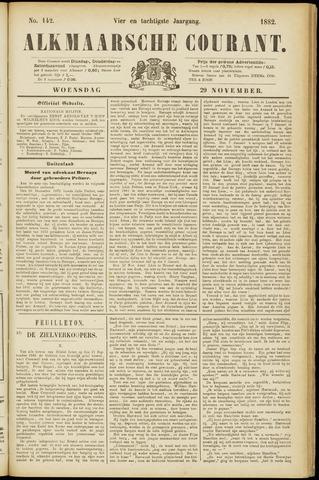 Alkmaarsche Courant 1882-11-29