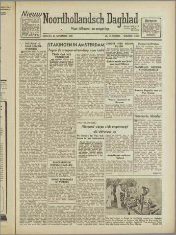 Nieuw Noordhollandsch Dagblad : voor Alkmaar en omgeving 1946-09-24
