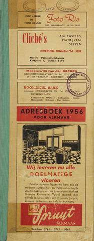 Adresboek van Alkmaar 1956-01-01