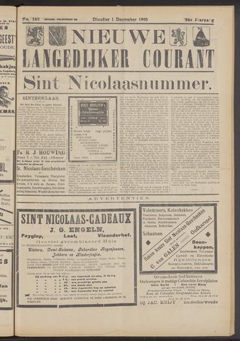 Nieuwe Langedijker Courant 1925-12-01