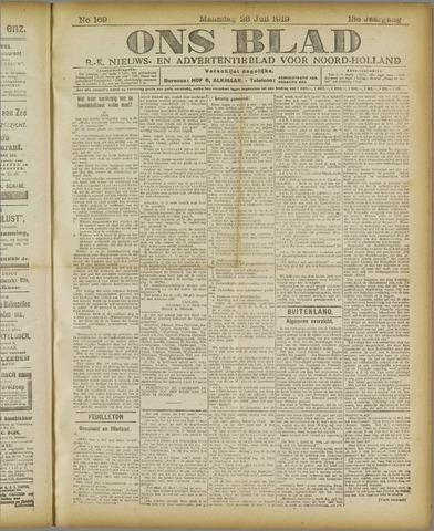 Ons Blad : katholiek nieuwsblad voor N-H 1919-07-28