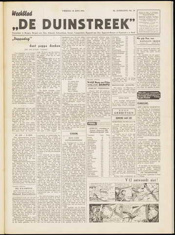 De Duinstreek 1954-06-18