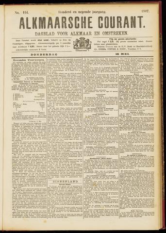 Alkmaarsche Courant 1907-05-16