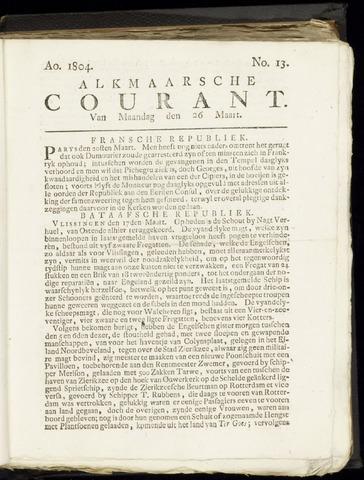 Alkmaarsche Courant 1804-03-26