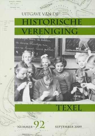 Uitgave Historische Vereniging Texel 2009-09-01