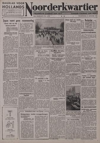Dagblad voor Hollands Noorderkwartier 1942-01-21