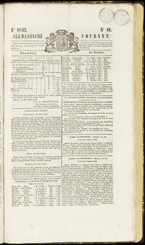 Alkmaarsche Courant 1842-10-10