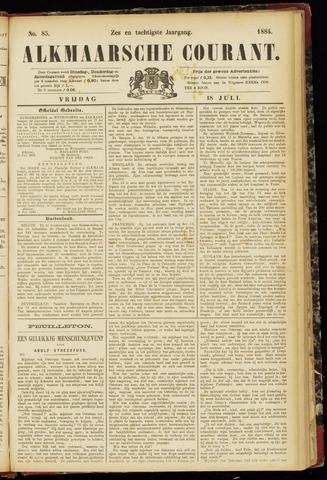 Alkmaarsche Courant 1884-07-18