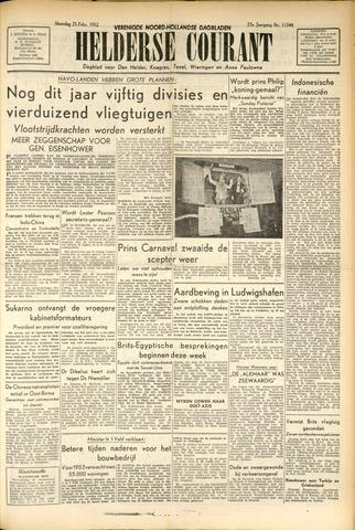 Heldersche Courant 1952-02-25