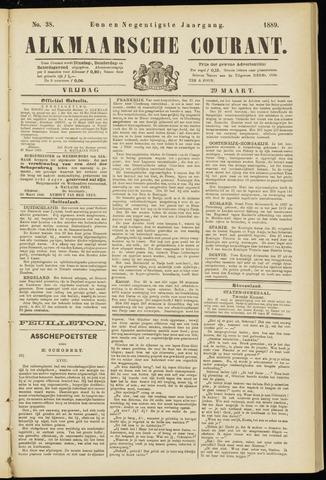 Alkmaarsche Courant 1889-03-29