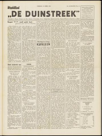 De Duinstreek 1954-04-23