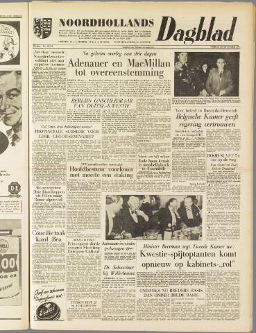 Noordhollands Dagblad : dagblad voor Alkmaar en omgeving 1959-11-20