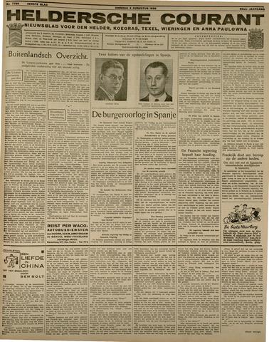 Heldersche Courant 1936-08-04