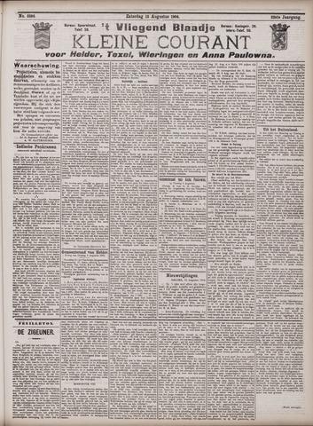 Vliegend blaadje : nieuws- en advertentiebode voor Den Helder 1904-08-13