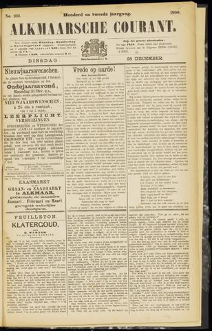 Alkmaarsche Courant 1900-12-25