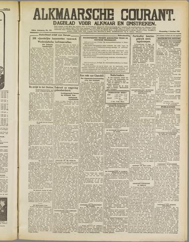 Alkmaarsche Courant 1941-10-01