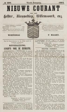 Nieuwe Courant van Den Helder 1864-03-09