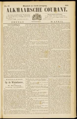 Alkmaarsche Courant 1902-04-25