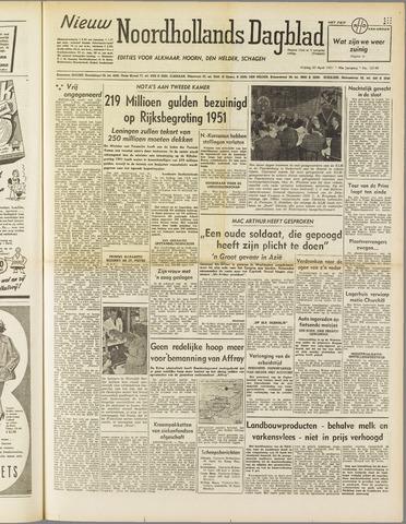 Nieuw Noordhollandsch Dagblad : voor Alkmaar en omgeving 1951-04-20