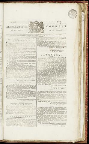 Alkmaarsche Courant 1825-08-08