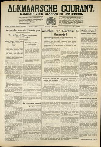 Alkmaarsche Courant 1939-05-01