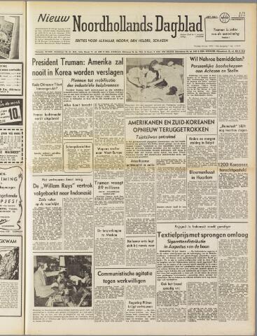 Nieuw Noordhollandsch Dagblad : voor Alkmaar en omgeving 1950-07-14