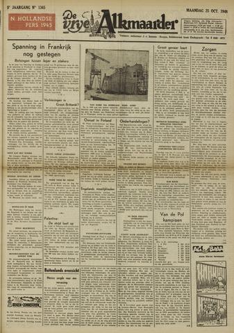 De Vrije Alkmaarder 1948-10-25