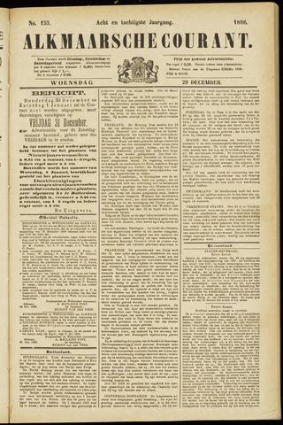 Alkmaarsche Courant 1886-12-29