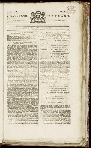 Alkmaarsche Courant 1818-02-23