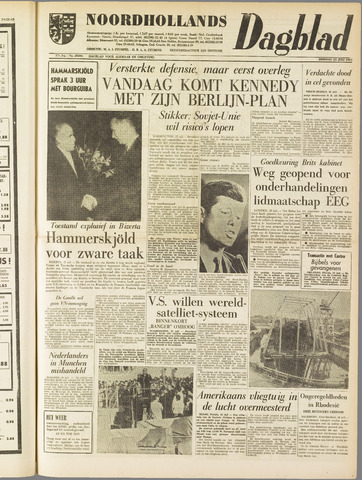 Noordhollands Dagblad : dagblad voor Alkmaar en omgeving 1961-07-25
