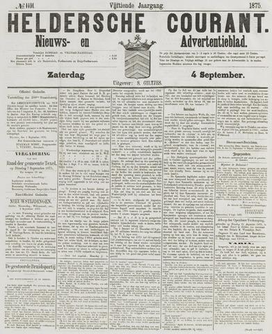 Heldersche Courant 1875-09-04