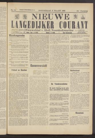 Nieuwe Langedijker Courant 1932-03-17