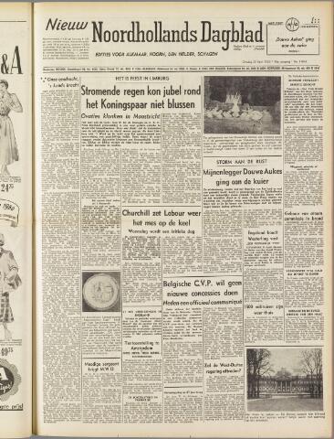 Nieuw Noordhollandsch Dagblad : voor Alkmaar en omgeving 1950-04-25