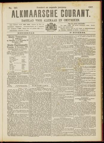 Alkmaarsche Courant 1907-10-17