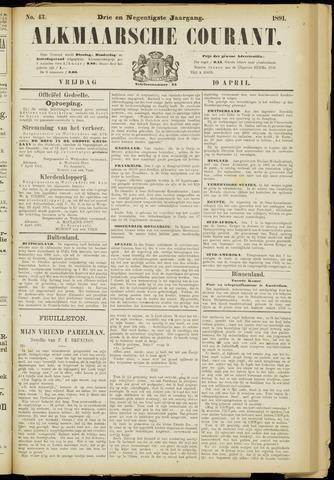 Alkmaarsche Courant 1891-04-10