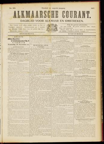 Alkmaarsche Courant 1907-11-14