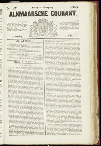 Alkmaarsche Courant 1858-07-05