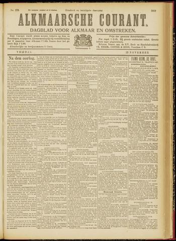 Alkmaarsche Courant 1918-11-22