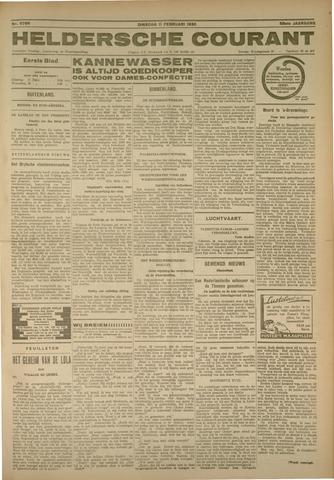 Heldersche Courant 1930-02-11