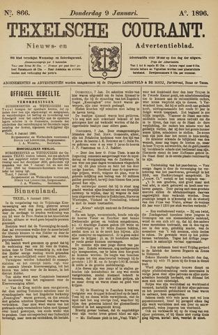 Texelsche Courant 1896-01-09