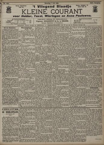 Vliegend blaadje : nieuws- en advertentiebode voor Den Helder 1906-07-07