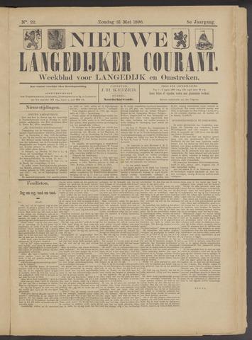 Nieuwe Langedijker Courant 1896-05-31
