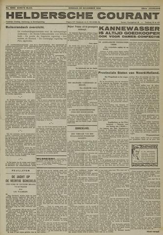 Heldersche Courant 1930-11-25