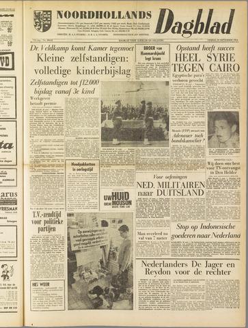 Noordhollands Dagblad : dagblad voor Alkmaar en omgeving 1961-09-29