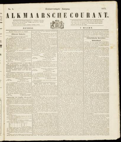 Alkmaarsche Courant 1874-03-01