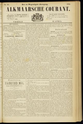 Alkmaarsche Courant 1894-04-13