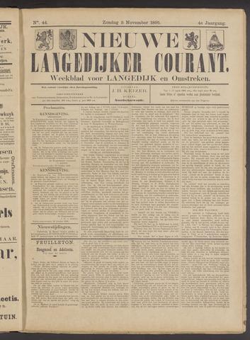 Nieuwe Langedijker Courant 1895-11-03