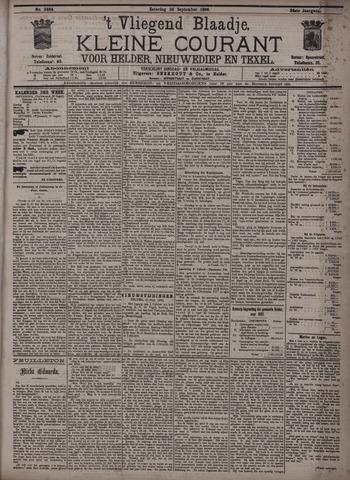 Vliegend blaadje : nieuws- en advertentiebode voor Den Helder 1896-09-26
