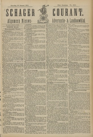 Schager Courant 1911-01-28