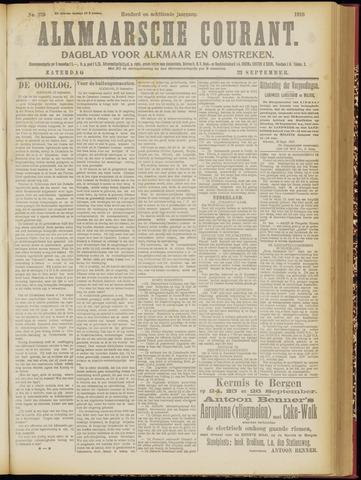 Alkmaarsche Courant 1916-09-23